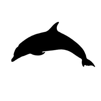 Adhesivos pegatinas peces delfin for Pegatinas de peces