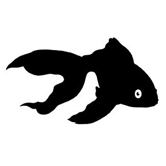Adhesivos pegatinas peces pez telescopico for Pegatinas de peces